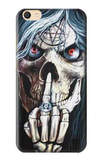 Printed Skull Pentagram Apple iPad Mini 4 Case