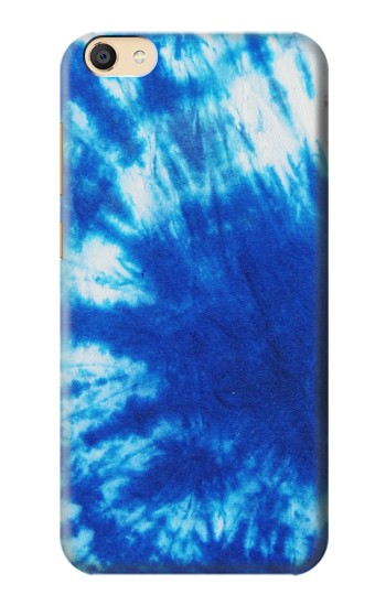 Printed Tie Dye Blue Apple iPad Mini 4 Case