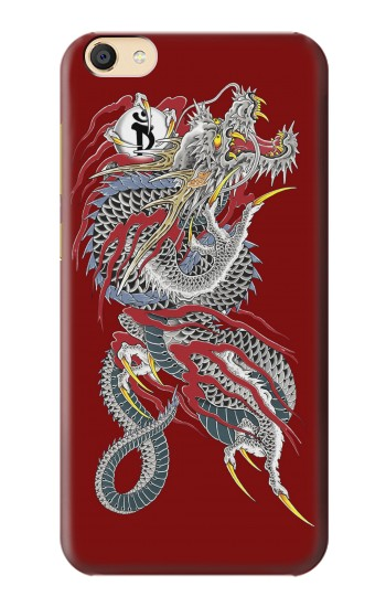 Printed Yakuza Dragon Tattoo Apple iPad Mini 4 Case