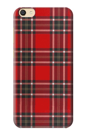 Printed Tartan Red Pattern Apple iPad Mini 4 Case