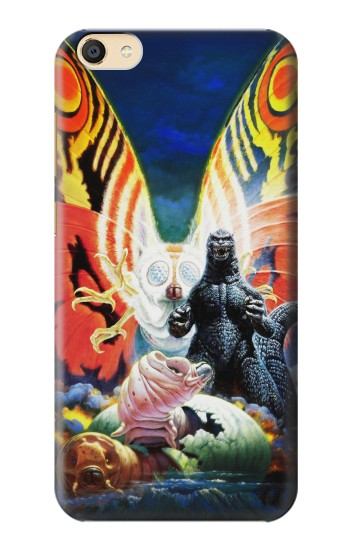 Printed Godzilla vs Mothra Apple iPad Mini 4 Case