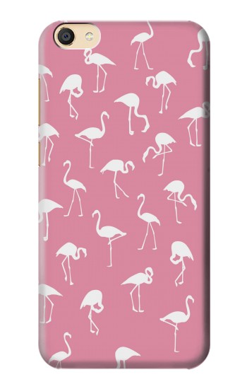 Printed Pink Flamingo Pattern Apple iPad Mini 4 Case