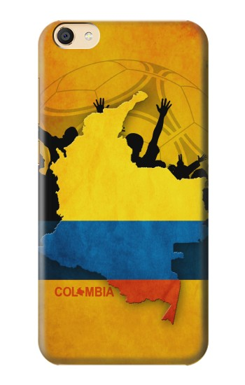Printed Colombia Football Flag Apple iPad Mini 4 Case