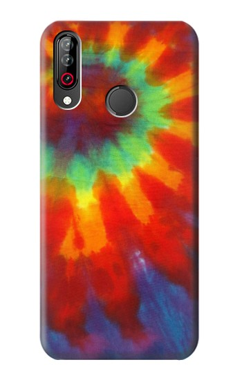 Printed Colorful Tie Dye Fabric Texture LG W30 Case
