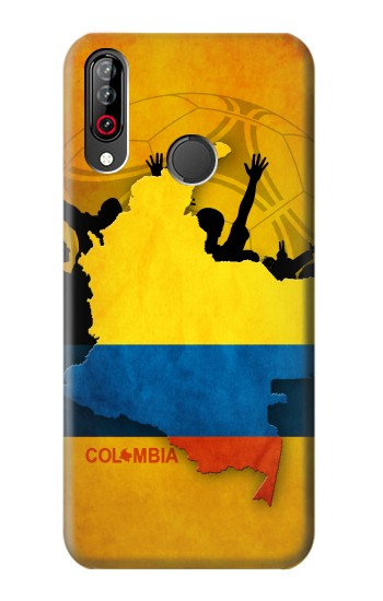 Printed Colombia Football Flag LG W30 Case