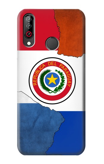 Printed Paraguay Flag LG W30 Case