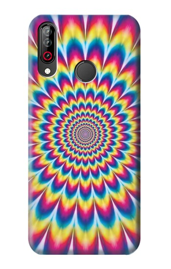 Printed Colorful Psychedelic LG W30 Case