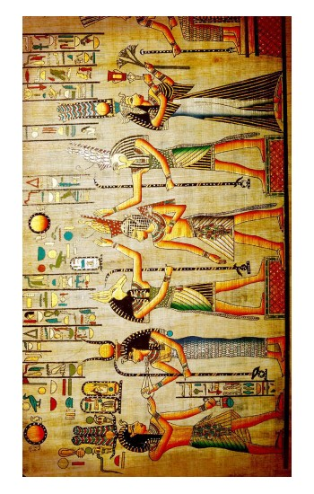 Printed Egypt Wall Art Apple Watch Band (44mm) Case