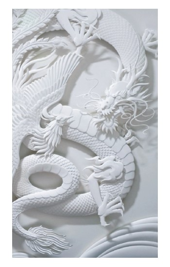Printed Dragon Carving Apple Watch Band (44mm) Case