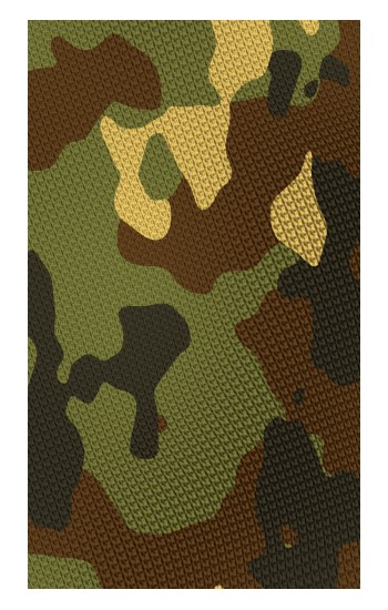 Printed Camo Camouflage Graphic Printed Apple Watch Band (44mm) Case