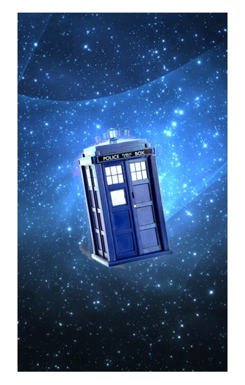 Printed Doctor Who Tardis Apple Watch Band (44mm) Case