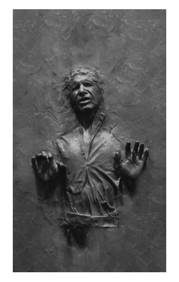 Printed Han Solo Frozen in Carbonite Apple Watch Band (44mm) Case