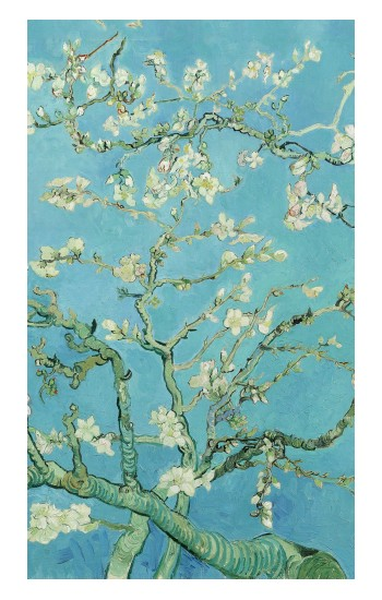 Printed Vincent Van Gogh Almond Blossom Apple Watch Band (44mm) Case