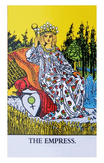 Printed Tarot Card The Empress Apple Watch Band (44mm) Case