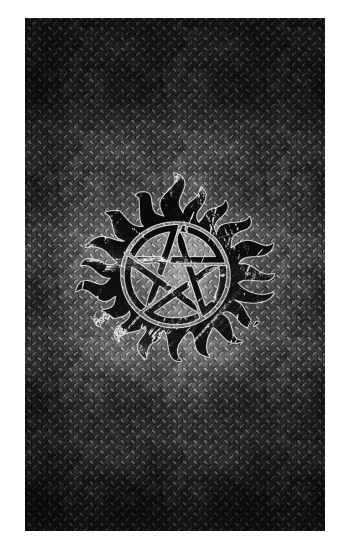 Printed Supernatural Antidemonpos Symbol Apple Watch Band (44mm) Case