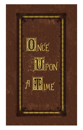 Printed Once Upon a Time Book Cover Apple Watch Band (44mm) Case