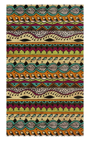 Printed Aztec Boho Hippie Pattern Apple Watch Band (44mm) Case