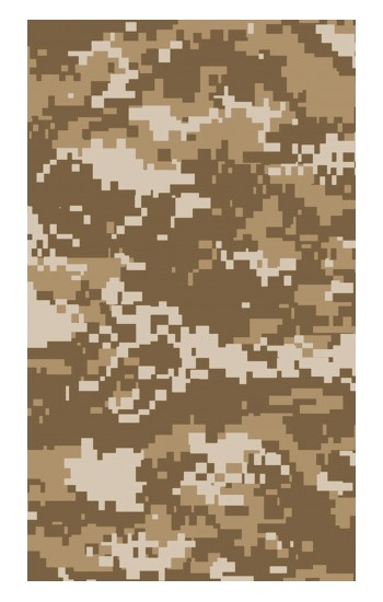 Printed Army Camo Tan Apple Watch Band (44mm) Case