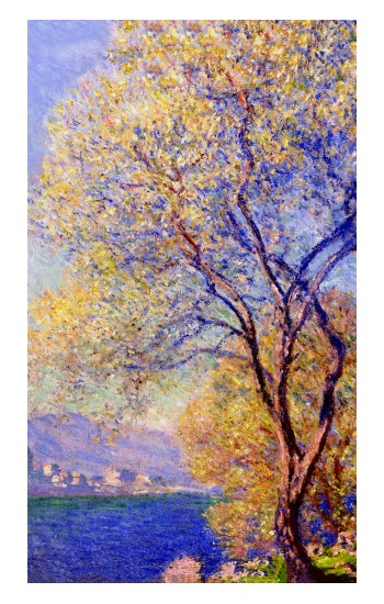 Printed Claude Monet Antibes Seen from the Salis Gardens Apple Watch Band (44mm) Case