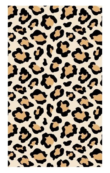 Printed Fashionable Leopard Seamless Pattern Apple Watch Band (44mm) Case