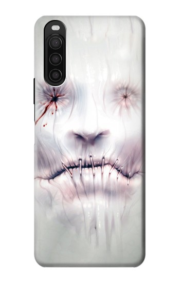 Printed Horror Face Sony Xperia 10 III Case