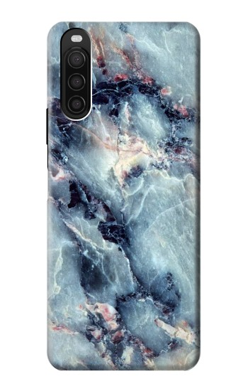 Printed Blue Marble Texture Sony Xperia 10 III Case