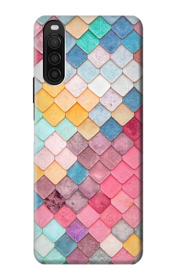 Printed Candy Minimal Pastel Colors Sony Xperia 10 III Case