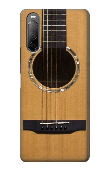Printed Acoustic Guitar Sony Xperia 10 II Case