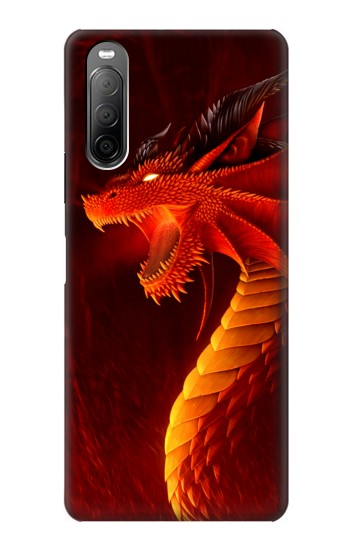 Printed Red Dragon Sony Xperia 10 II Case