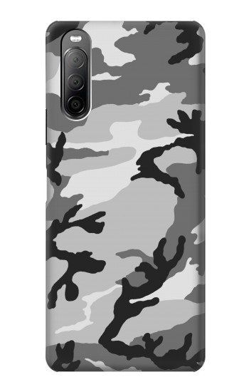 Printed Snow Camo Camouflage Graphic Printed Sony Xperia 10 II Case