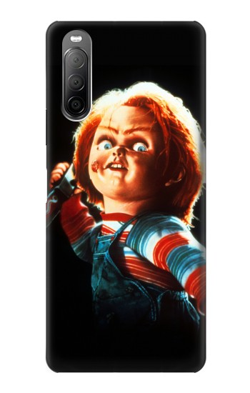 Printed Chucky With Knife Sony Xperia 10 II Case