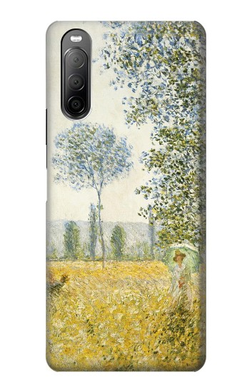 Printed Claude Monet Fields In Spring Sony Xperia 10 II Case