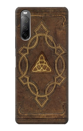 Printed Spell Book Cover Sony Xperia 10 II Case