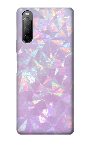 Printed Iridescent Holographic Photo Printed Sony Xperia 10 II Case
