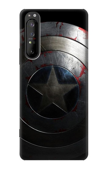 Printed Captain Shield Sony Xperia 1 II Case
