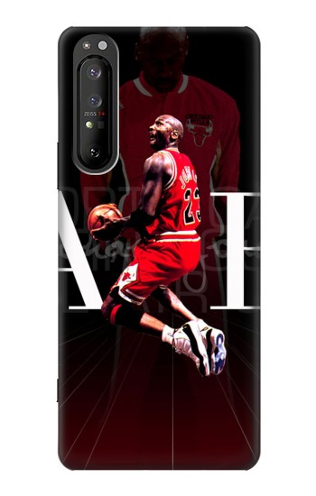 Printed Basketball Air Jordan Sony Xperia 1 II Case