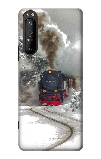 Printed Steam Train Sony Xperia 1 II Case