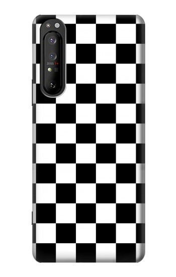 Printed Checkerboard Chess Board Sony Xperia 1 II Case
