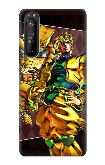 Printed Jojo Bizarre Adventure Dio Brando The World Sony Xperia 1 II Case
