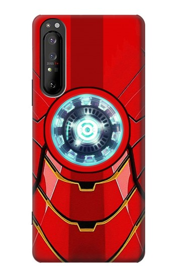Printed Ironman Armor Arc Reactor Graphic Printed Sony Xperia 1 II Case