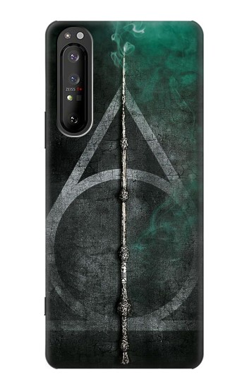 Printed Harry Potter Magic Wand Sony Xperia 1 II Case