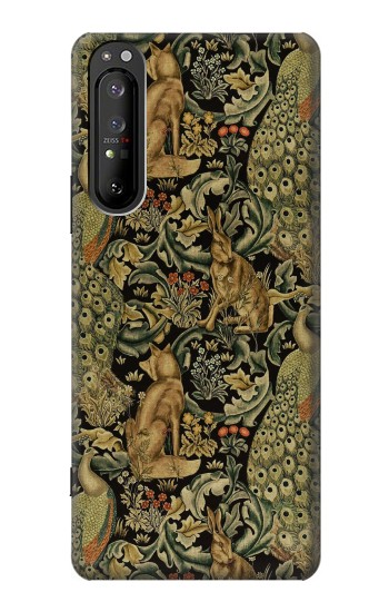 Printed William Morris Forest Velvet Sony Xperia 1 II Case