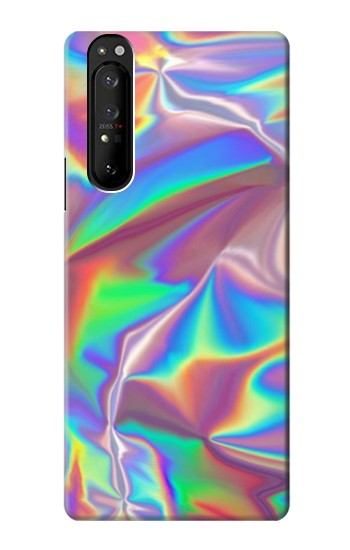 Printed Holographic Photo Printed Sony Xperia 1 III Case
