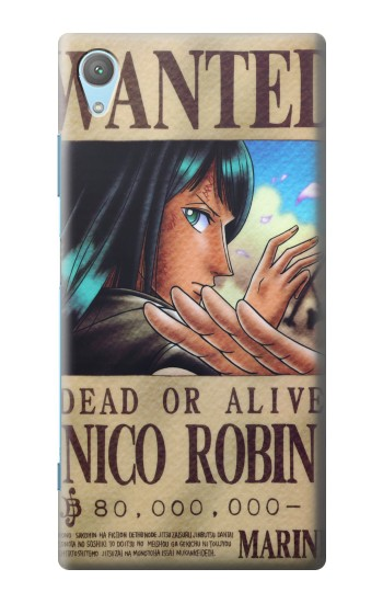 Printed One Piece Nico Robin Wanted Poster Huawei Enjoy 5s Case