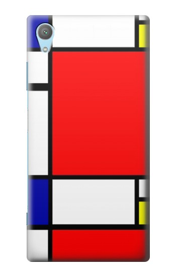 Printed Composition Red Blue Yellow Huawei Enjoy 5s Case