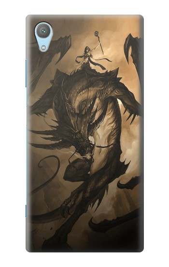 Printed Dragon Rider Huawei Enjoy 5s Case