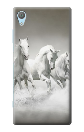 Printed White Horses Huawei Enjoy 5s Case