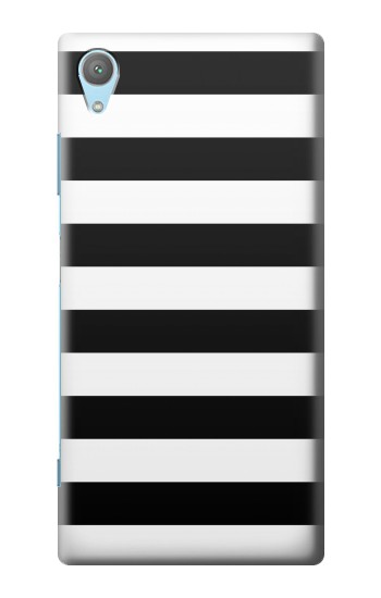 Printed Black and White Striped Huawei Enjoy 5s Case