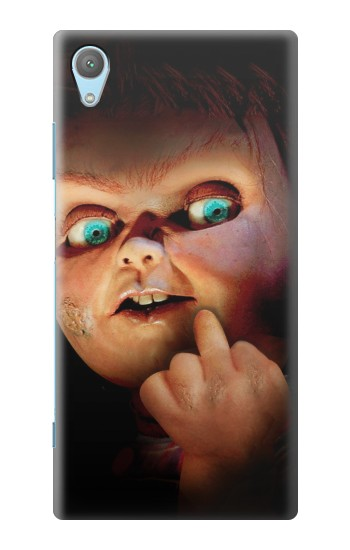 Printed Chucky Middle Finger Huawei Enjoy 5s Case