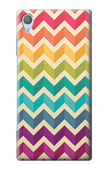 Printed Rainbow Colorful Shavron Zig Zag Pattern Huawei Enjoy 5s Case